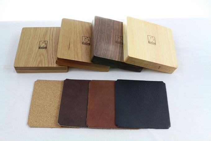 Choose an upgrade premium leather or cork liner for your rolling surface.