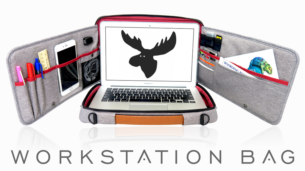 The Moose || The World's Most Functional Workstation Bag