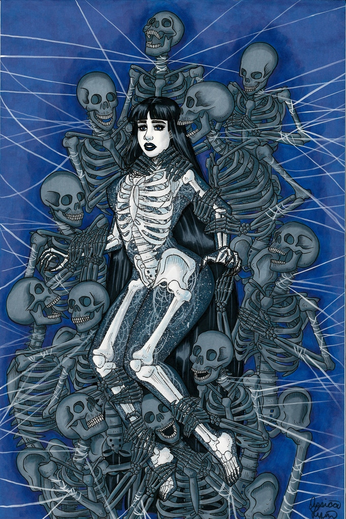 Image from BONES: The Art Book Vol. 1