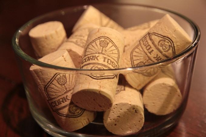 20 Cork Toss Logo'd Corks