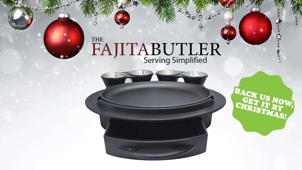 THE FAJITA BUTLER Serve Fajitas..And More! The Simple Way! project video thumbnail