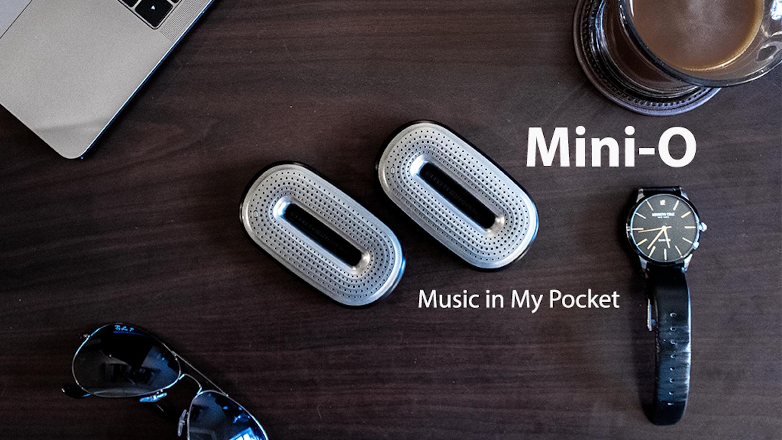 Mini O The Powerful Pocket Sized Speaker By Flato Kickstarter