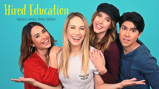 HIRED EDUCATION: a comedy-drama web series