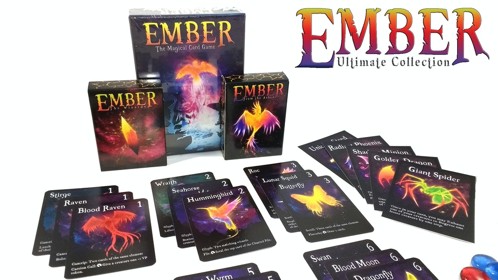 Ember: Ultimate Collection + Limited Edition Wood Deck Boxes project video thumbnail