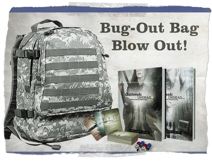 Want EVERYTHING in the campaign? Grab a BUG OUT BAG!