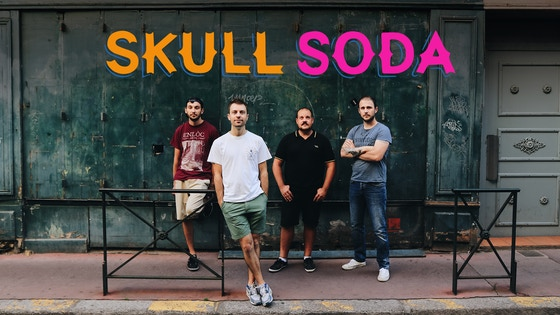 SKULL SODA mini EP digital + exclusive t-shirt