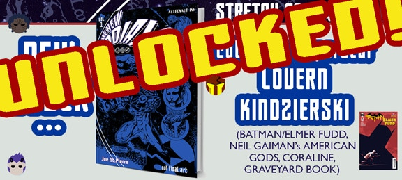 STRETCH GOAL UNLOCKED! The cover of the NEW ZODIAX NEW EDITION will be colored by one of the best in the business: Lovern Kindzierski!