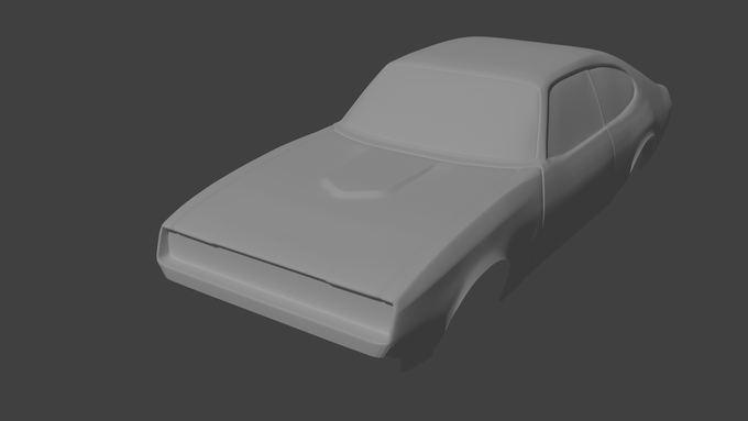 """Classic"" Car Work in Progress"