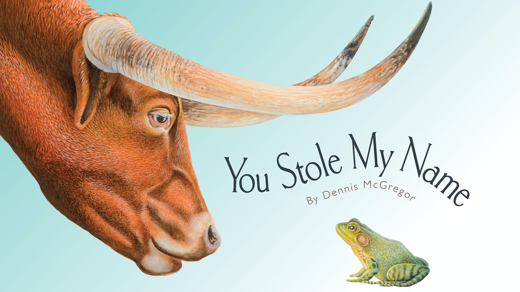 """""""You Stole My Name"""", Dennis McGregor's new children's book. project video thumbnail"""