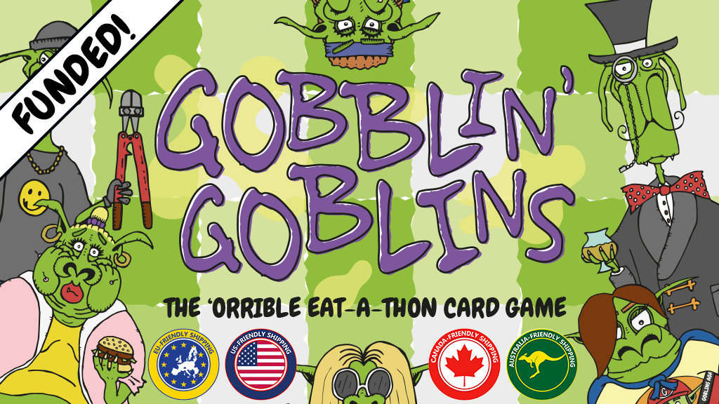 Gobblin' Goblins: The 'Orrible Eat-A-Thon Card Game project video thumbnail