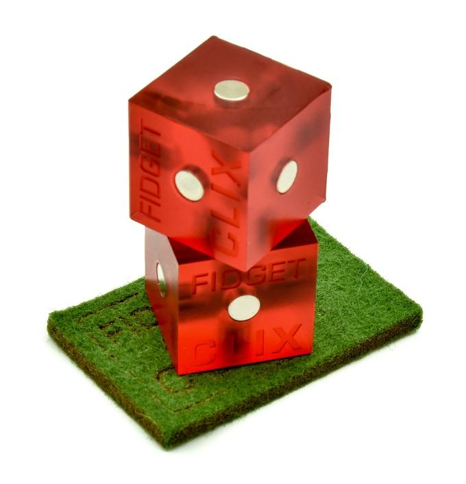 FIDGET CLIX - Casino Prototype with Logo