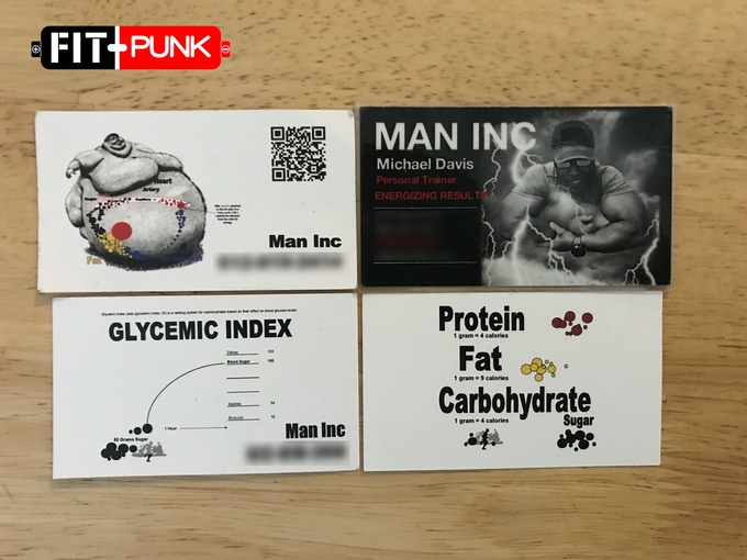 man inc. fitness cards