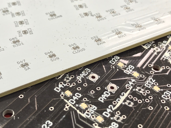 Some prototype boards