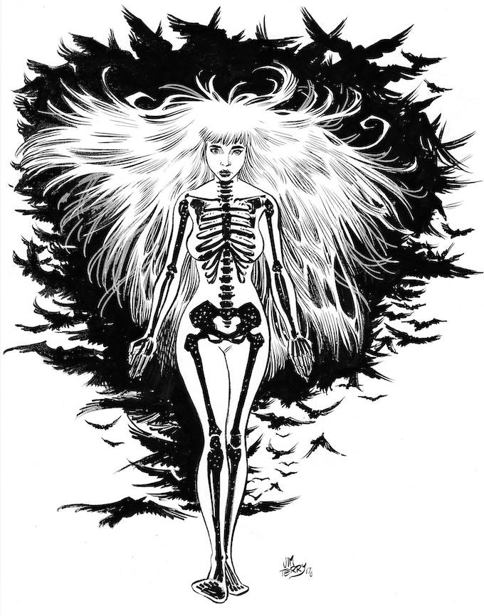 """Kostra"" art print by Jim Terry"