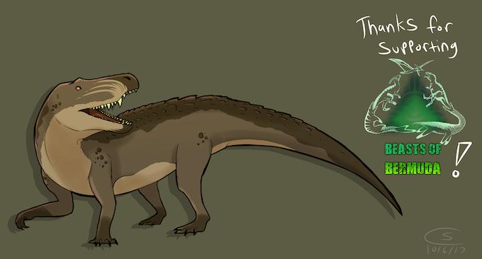 Saurosuchus, by Connisaur