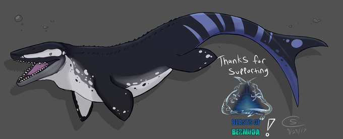 Mosasaurus, by Connisaur