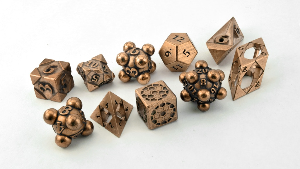 Bronze Dice project video thumbnail