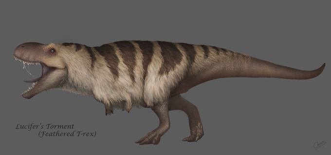 Feathered Rex Concept, by Choux