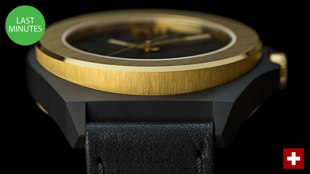 MODUCO - Uniquely crafted, industrial Swiss made watches. project video thumbnail