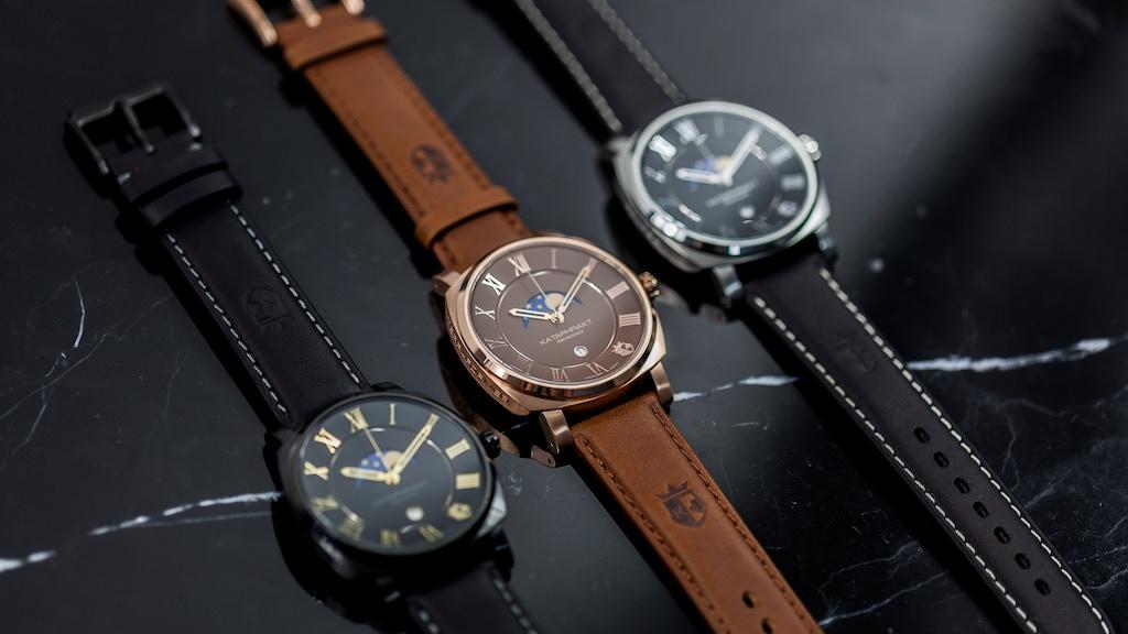 Luxury Watch Redefined By Kataphrakt Kronograf