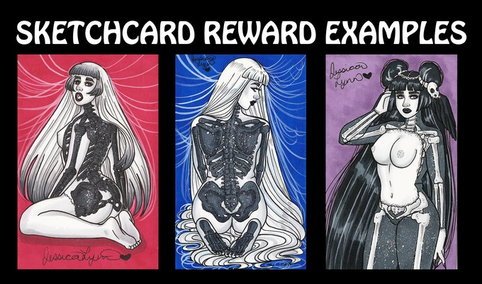 Actual Sketchcards from the tier