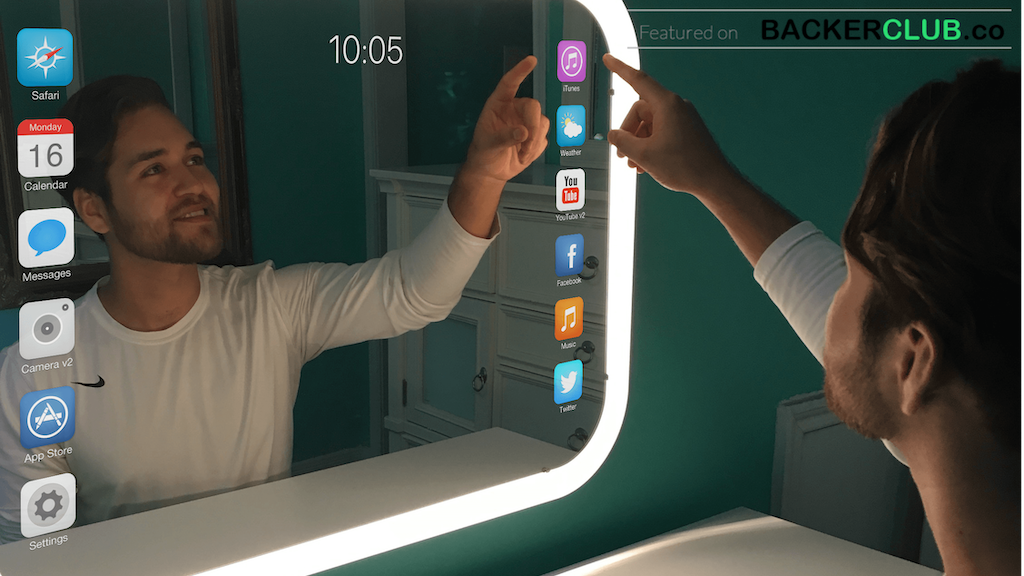 Eve Smart Mirror: Interactive Smart Mirror with an App Store