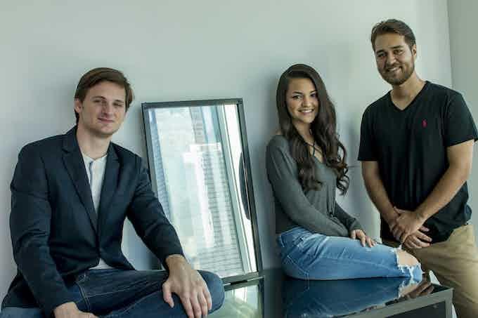 The Eve Smart Mirror Team. (Dalton, Aryana, Stephen)
