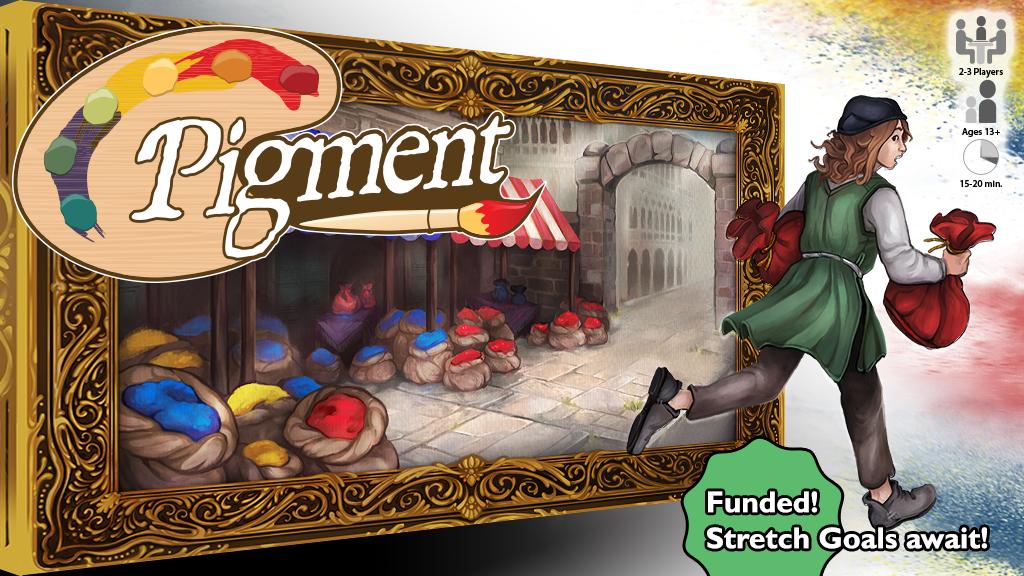 Pigment - A Game for 2-3 Renaissance Painters project video thumbnail
