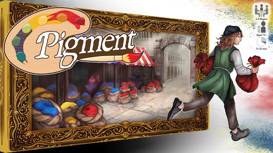 Pigment - A Game for 2-3 Renaissance Painters