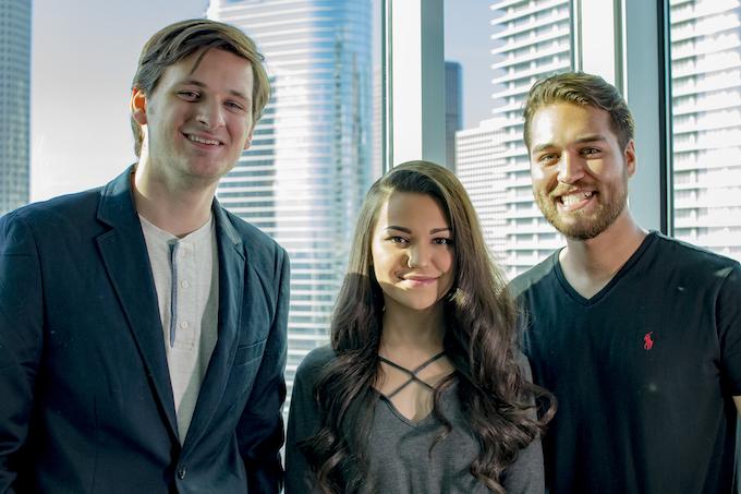 Eve Smart Mirror Team (Dalton, Aryana, Stephen)