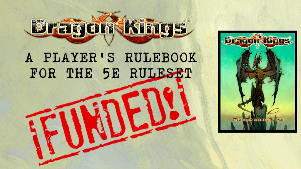Dragon Kings Player's Rulebook for 5E project video thumbnail