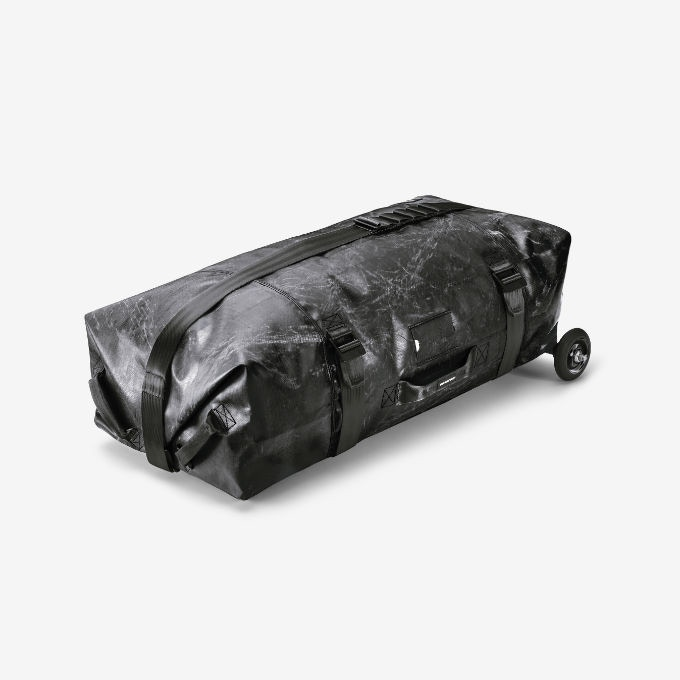 ALL BLACK ZIPPELIN   €620 (all gone): To celebrate the success of the campaign, we're offering a batch of 10 ZIPPELINS made from very rare black tarp—combined with wheels with black rims!