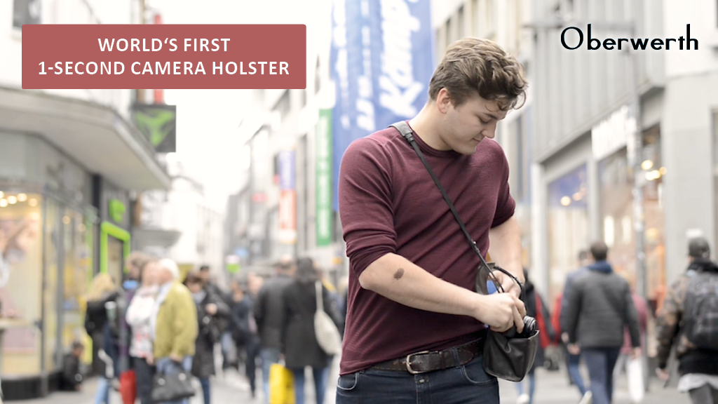 World's First 1 Sec. Camera Holster: Speed and Protection project video thumbnail