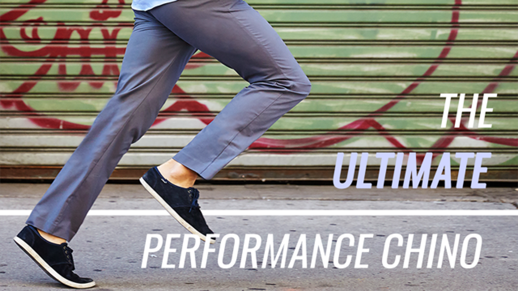 The Ultimate Performance Chinos by Woodies project video thumbnail