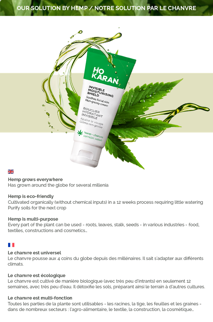 Ho Karan We Do Skincare Products With Hemp Oil By Delaire