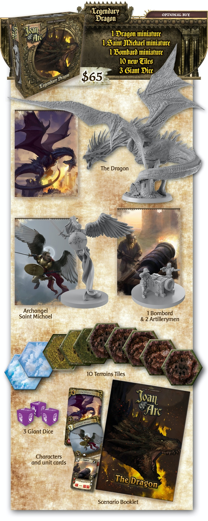 Time of Legends: Joan of Arc by Mythic Games, Inc  — Kickstarter