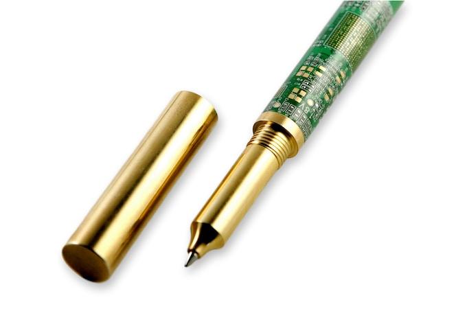 Brass Circuit Board Pen