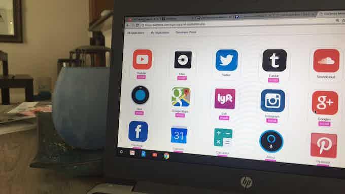 Eve Smart Mirror Web Application Store