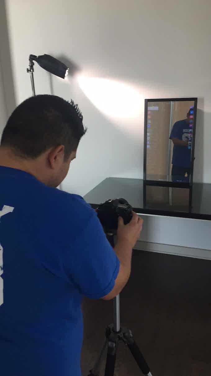 Eve Smart Mirror Behind the scenes