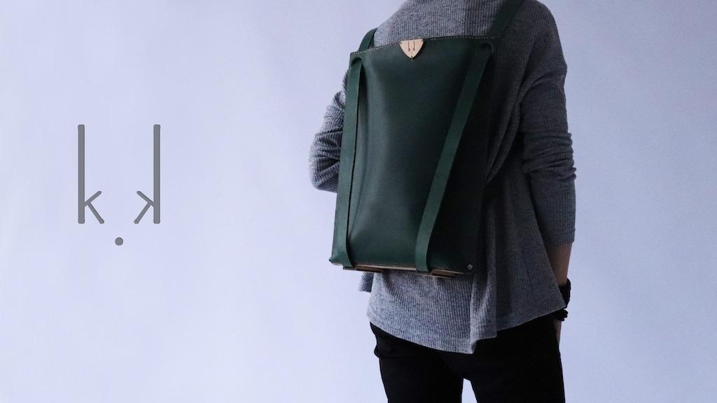 K.K VICE VERSA BAG -backpack, messenger, handbag- all in one project video thumbnail