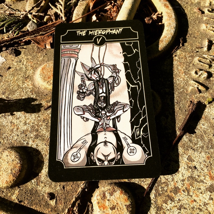 Sinking Wasteland Tarot by PixelOccult » Two weeks in