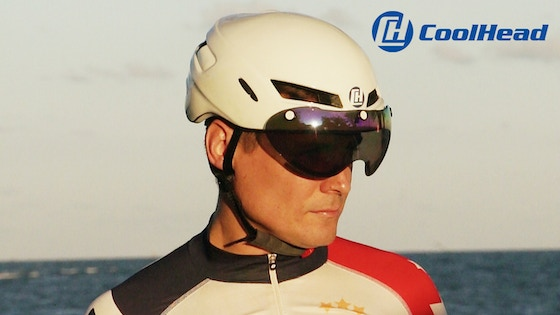 CoolHead- Coolest Cycling Helmet on Earth. Literally.
