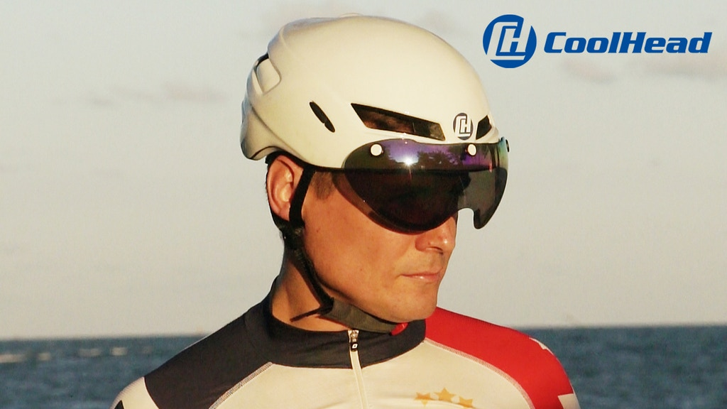 CoolHead- Coolest Cycling Helmet on Earth. Literally. project video thumbnail