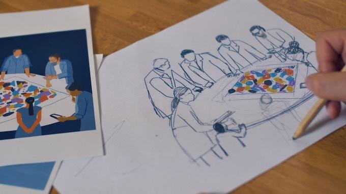Draft illustration