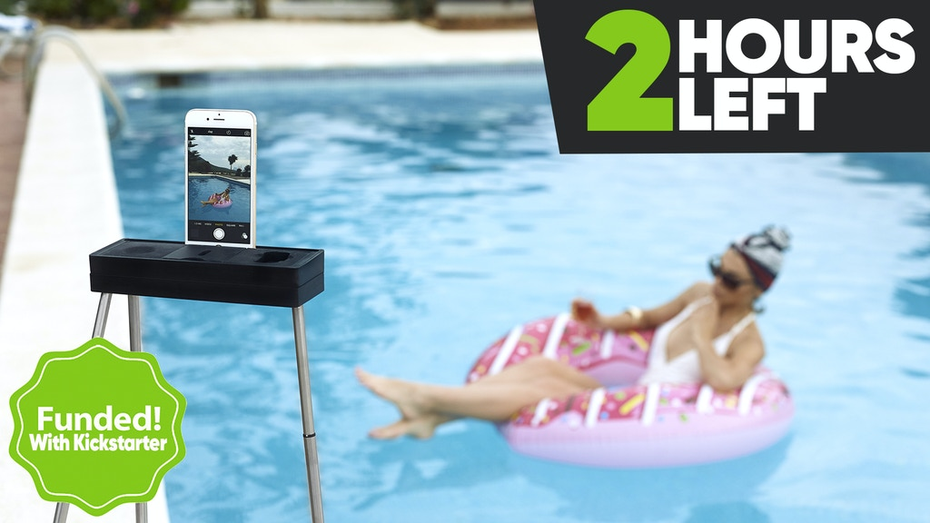 The Most Portable Tripod ever created for Phone/DSLR/GoPro project video thumbnail