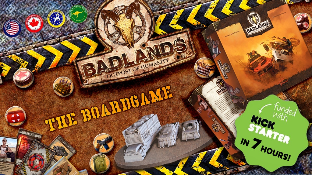 Badlands: Outpost of Humanity project video thumbnail