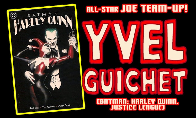 So glad to have Harley Quinn artist Yvel Guichet on the All-Star Team!