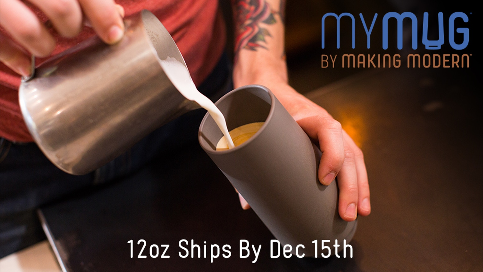 The modern, minimalist mug that's made of a virtually unbreakable advanced composite. Insulated. Made in USA. ✨  Century Guarantee!