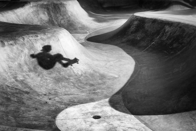 Skateboarder Shadow
