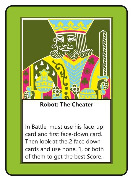 Robot: The Cheater